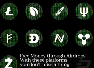 Free Money through Airdrops: With these platforms you don't miss a thing!